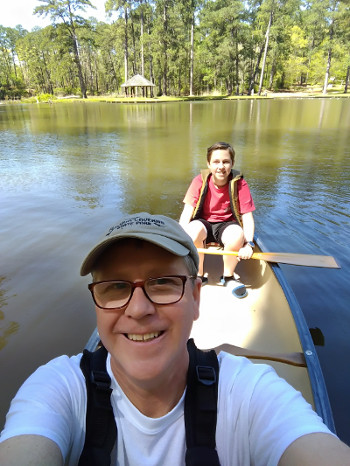 Canoing at Clear Springs